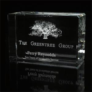 Large Block - Custom Award