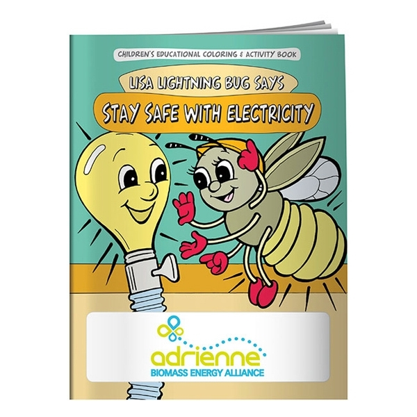 Coloring Book: Stay Safe with Electricity