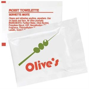 Moist Towelette Packet