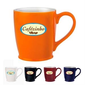 Stylish Cafe Mug - 16 oz