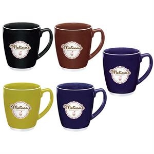 Large Color Bistro with Accent Mug - 20 oz