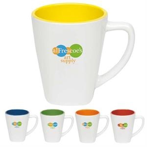 Two-Tone Square Mug - 14 oz