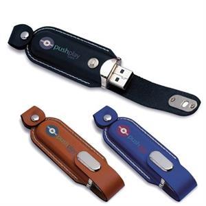 Executive Leather USB 2.0 Flash Drive
