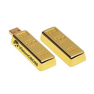 Golden Nugget USB 2.0 Flash Drive