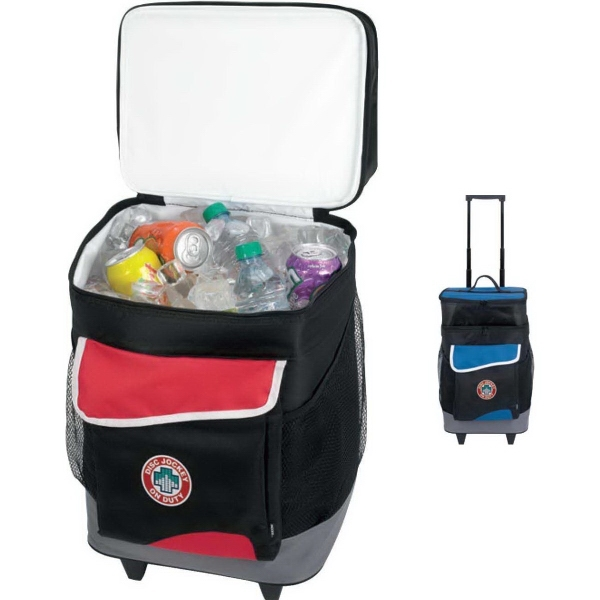 Koozie® Two-Compartment Rolling Kooler
