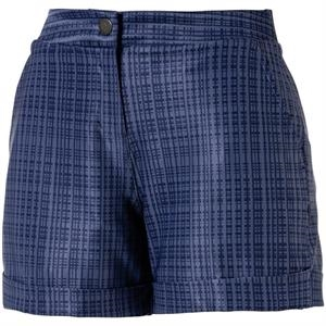 Puma Women's Soft Plaid Short Short
