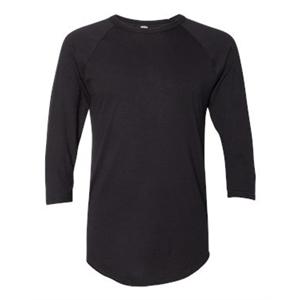 50/50 Three-Quarter Sleeve Raglan T-shirt