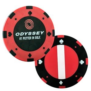 Odyssey Poker Chip Ball Markers