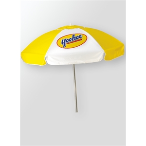 Domestic Vinyl Patio/Cafe Umbrella