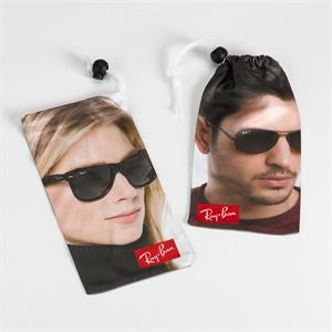Dye-Sublimated Microfiber Sunglass Pouch