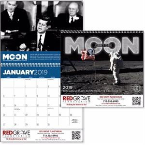 Journey to the Moon 2019 Calendar