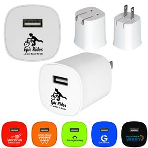 UL FOLDING COLORFUL WALL CHARGER