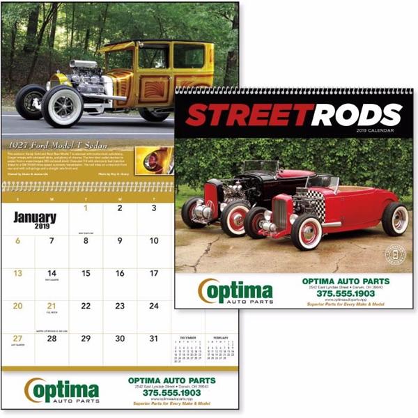 Street Rods 2019 Calendar