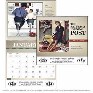 The Saturday Evening Post Deluxe Pocket 2019 Calendar