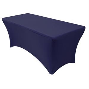6' Blank Stretch Tablecovers