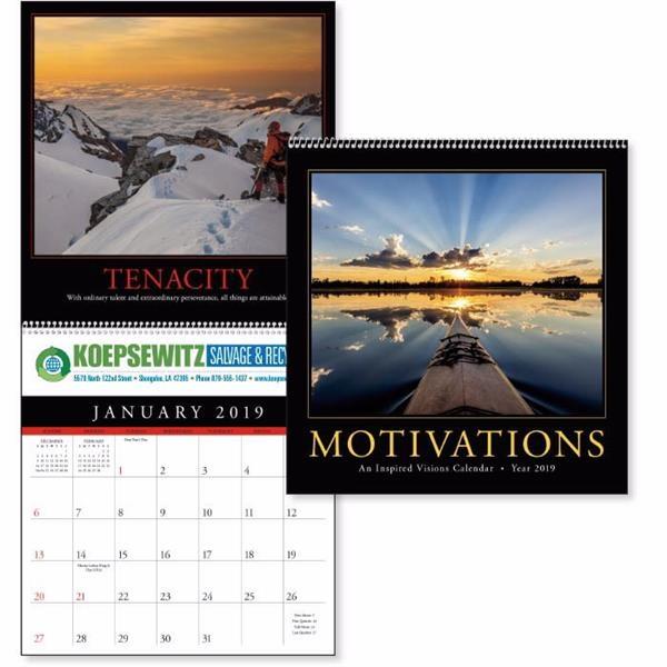 Motivations 2019 Calendar