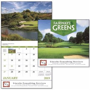 Stapled Fairways & Greens Lifestyle Appointment Calendar