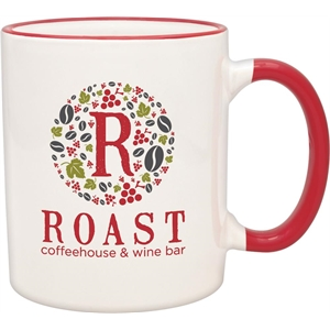 Red Duo-Tone Collection Mug