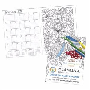 Adult Coloring Book 2019 Standard Planner