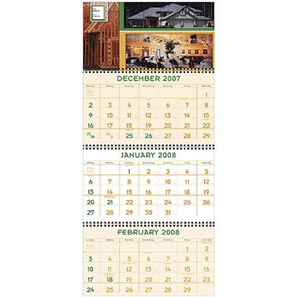Four-Panel Custom 2019 Calendar