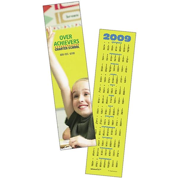 Custom Bookmark 2019 Calendar