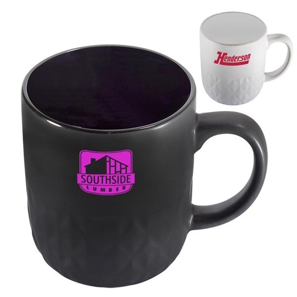 16 oz. Textured Ceramic Mug