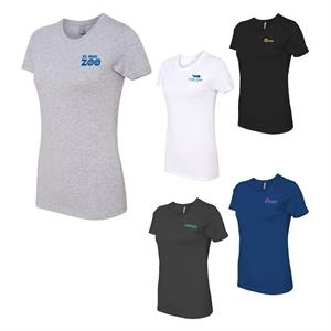 Next Level Fitted 4.3 oz Crew T-Shirt - Ladies'