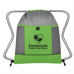 Honeycomb Ripstop Drawstring Bag