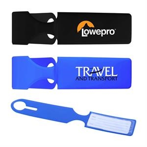The Folded Luggage Tag