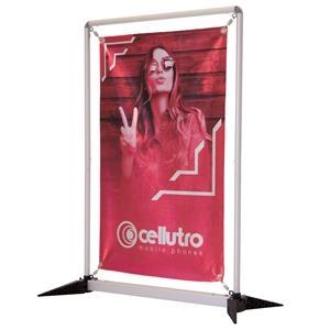 3' FrameWorx Tabletop Kit (Aluminum Fabric, Single-Sided)