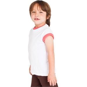 American Apparel® Toddler Organic Fine Jersey Short-Sleev...