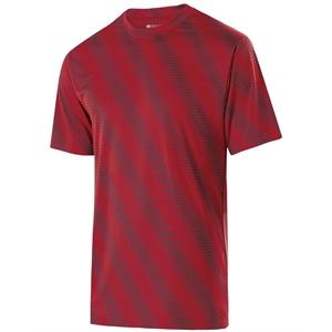 Holloway Youth Polyester Short Sleeve Training Torpedo Shirt