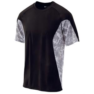 Holloway Adult Polyester Short Sleeve Tidal Shirt
