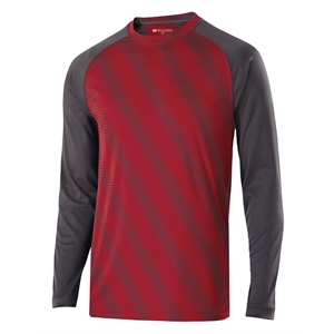 Holloway Adult Polyester Long Sleeve Torpedo Shirt