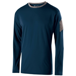 Holloway Adult Polyester Long Sleeve Electron Shirt