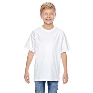 Hanes® Youth 4.5 oz., 100% Ringspun Cotton nano-T® T-...