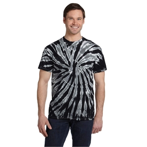 Tie-Dye Adult 5.4 oz., 100% Cotton Twist Tie-Dyed T-Shirt