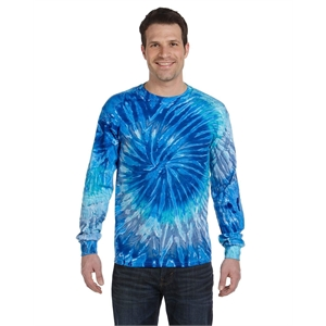 Tie-Dye Adult 5.4 oz. 100% Cotton Long-Sleeve T-Shirt