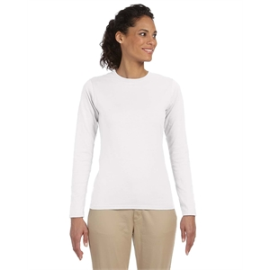 Softstyle® Ladies' Softstyle® 4.5 oz. Long-Sleeve T-S...