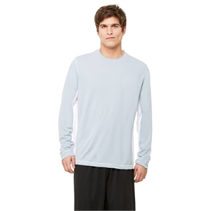 Alo® Men's Long-Sleeve Interlock Pieced T-Shirt