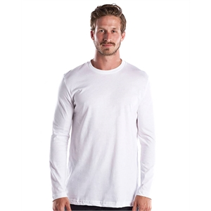 US Blanks® Men's 4.3 oz. Long-Sleeve Crewneck