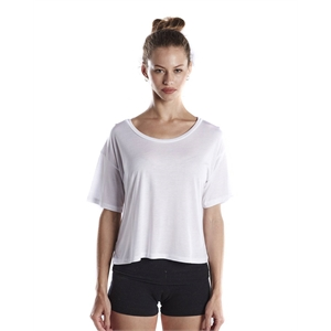 US Blanks® Ladies' 4.2 oz. Boxy Open Neck Top
