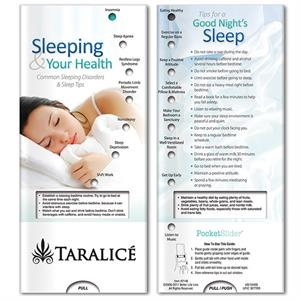 Pocket Slider:Sleeping and Your Health