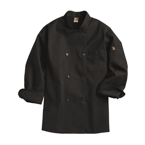 Black Traditional Chef Coat