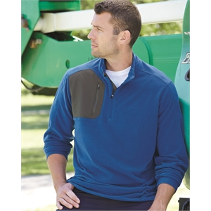 Interval DDX Quarter-Zip Nano Fleece Nylon Pullover