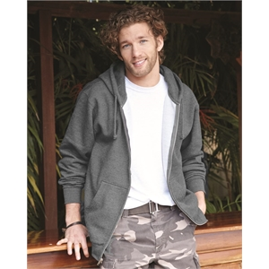 Independent Trading Co. Lightweight Full-Zip Hooded Sweat...