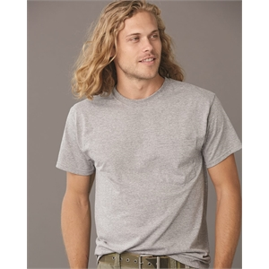 Dri-Power® 50/50 T-Shirt with a Pocket