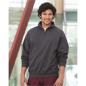 Nublend® Quarter-Zip Cadet Collar Sweatshirt