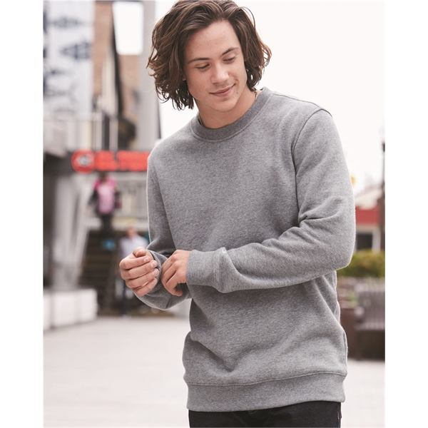 Cotton Blend Crewneck Sweatshirt