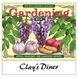 2019 The Old Farmer's Almanac Gardening Wall Calendar - S...